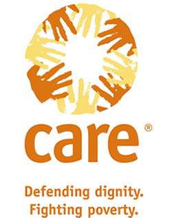 CARE Non profit organisation. Stop geweld tegen vrouwen.